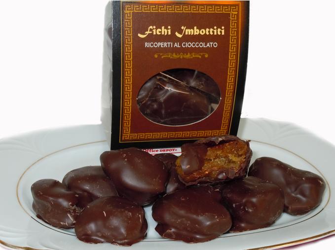 Popolare Fichi Calabresi Crocette, ricoperti al cioccolato Ripieni di  RL69