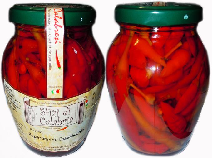 Peperoncino In Olio Piccante Calabrese Vendita Online Prodotti