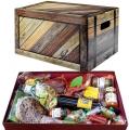 Box Elegante con 16 Specialita Calabresi miste e vino