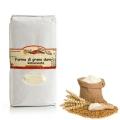 Farina Rimacinata di grano Duro - Semola Calabrese Busta kg 1