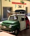 Fiat 500 Auto in Latta da Collezione artigianale