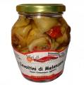 Involtini di Melanzane ripieni con Pomodori Secchi acciuga olive