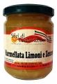 Marmellata di Limoni e Zenzero 190gr Senza Conservanti