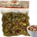 Olive Schiacciate e Condite alla Calabrese in Olio  500gr