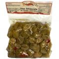 Olive Schiacciate Denocciolate Condite alla Calabrese 500gr