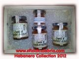 Peperoncino Habanero 4 varietà in Cassetta Regalo