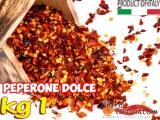 Peperone Dolce a Scaglie Tritato kg 1 busta