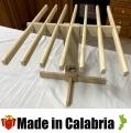 Stendipasta in Legno di Abete Made in Calabria 7 bracci da 40cm
