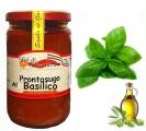 Sugo Pronto al basilico con olio di oliva gr 280