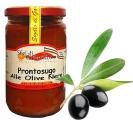 Sugo Pronto alle olive nere Passata di Pomodoro Casereccia - 280