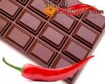 Tavoletta di Cioccolato Aromatizzato al Peperoncino Piccante
